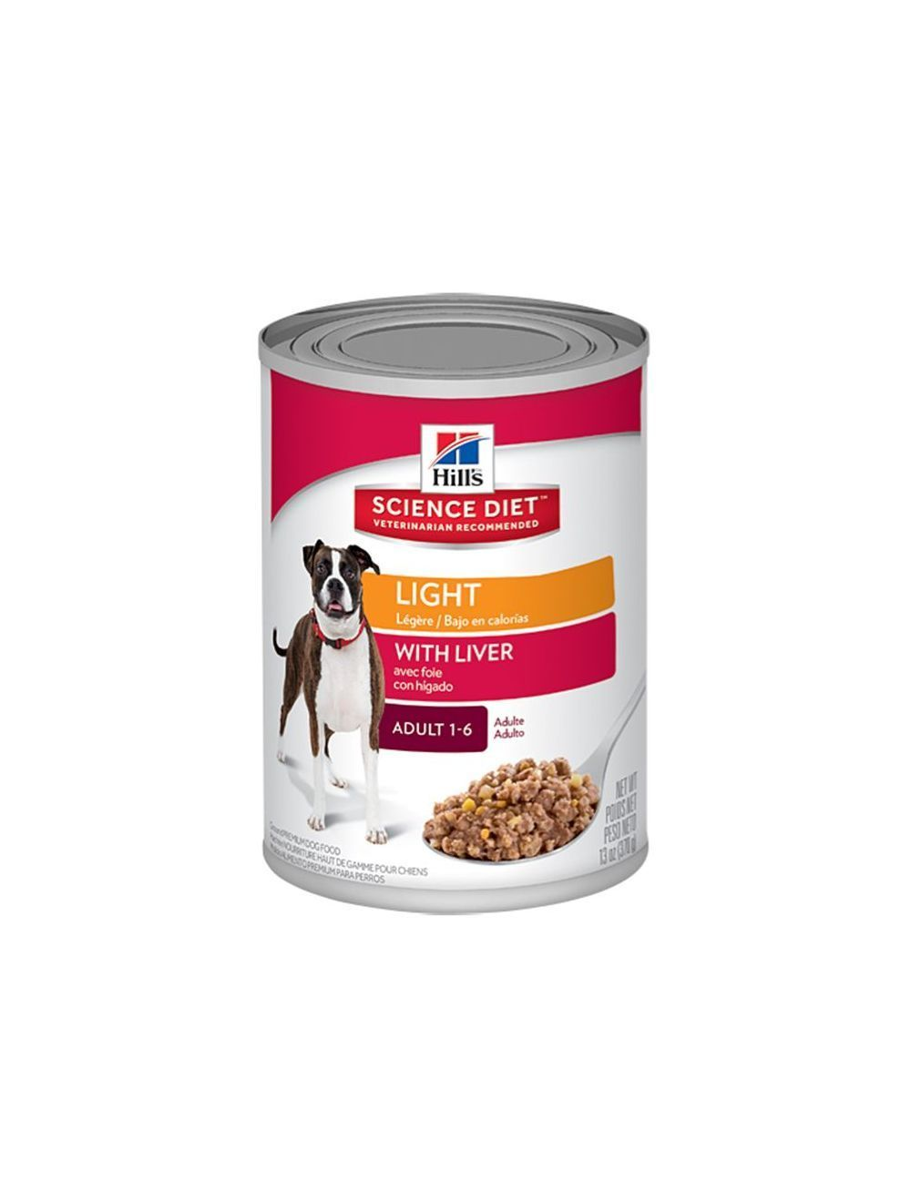Hills Lata Perro Adulto Light 13oz