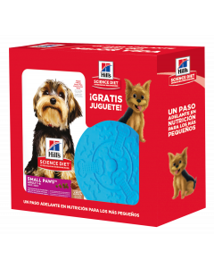 Hills combo adultos small & toy Breed lamb+ FRISBEE-Ciudaddemascotas.com