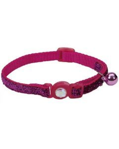 Coastal collar gato brillante fucsia