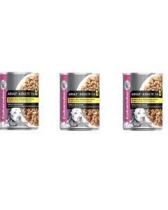 Eukanuba lata adult ch, rice & vegetables tripack 375 gr