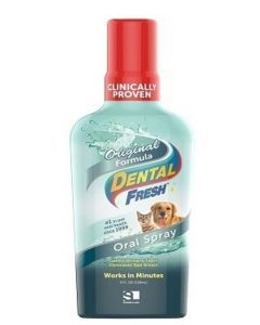 Dental Fresh  Enjuague Bucal para mascotas-Ciudaddemascotas.com