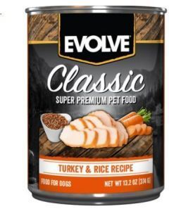 Evolve Dog Lata Pavo