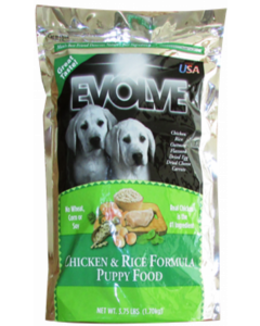 Evolve Puppy Chicken and Rice