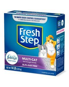 Fresh Step Arena Multi Cat Aglomerante x 6.35 Kg