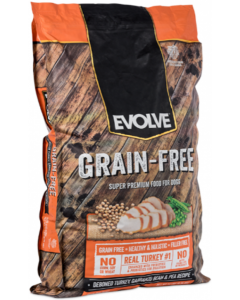 Evolve Dog Grain Free Pavo