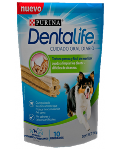 Snack Dentalife S/M Dog Treat x 198g - ciudaddemascotas.com