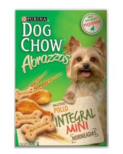 Galletas Dog Chow Abrazzos Integral Mini - Ciudaddemascotas.com