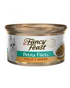 Fancy Feast Petit Filets Pollo y Queso - Ciudaddemascotas.com