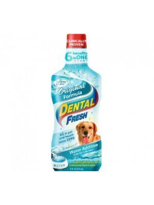 Enjuague Bucal para Perro Dental Fresh - Ciudaddemascotas.com