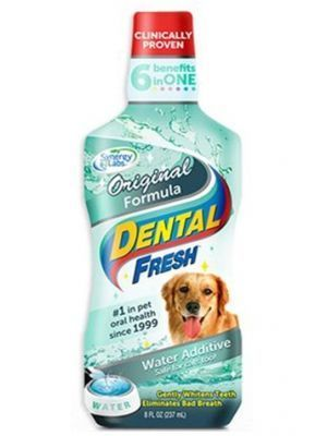 Enjuague Bucal para Perros Dental Fresh - Ciudaddemascotas.com
